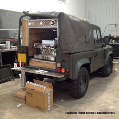 Land rover Coffee