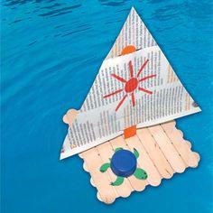 Καλοκαιρινές Κατασκευές για Παιδιά : kidsfun.gr