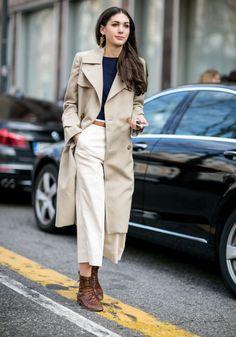 La jupe culotte blanche
