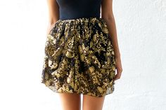 DIY Dolce & Gabbana skirt by a pair and a spare by apairandaspare, via Flickr