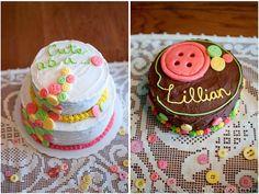 Magically Mundane: Cute as a button | Lillian's first birthday party!