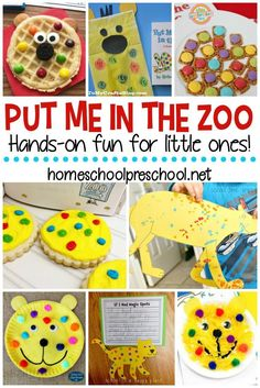 Put Me in the Zoo activities for kids are perfect for bringing this Dr. Seuss fa… Put Me in the Zoo activities for kids are perfect for bringing this Dr. Seuss favorite to life! Find crafts, worksheets, and snacks for kids! Zoo Activities Preschool, Animal Activities For Kids, Art Therapy Activities, Sequencing Activities, Creative Activities, Summer Activities, Book Activities, Dr Seuss Art, Dr Seuss Crafts
