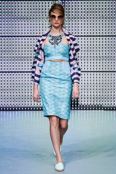 Holly Fulton Spring 2013 RTW