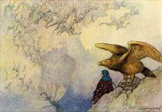 Winged Wonders- art print (poster)