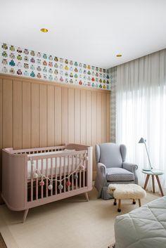 Moderninho e lindo! Acompanhem nossos projetos no Baby Bedroom, Baby Boy Rooms, Nursery Room, Kids Bedroom, Decoration Inspiration, Nursery Inspiration, Baby Decor, Kids Decor, Home Decor