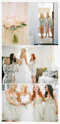 Damas de honra, as melhores amigas da noiva!