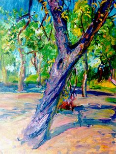 Dutch Painters, Trees, Modern, Nature, Painting, Fauvism, Landscapes, Trendy Tree, Tree Structure