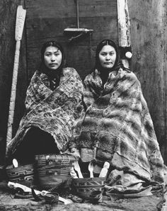 Native Women selling curios, Sitka, Alaska. 1900.