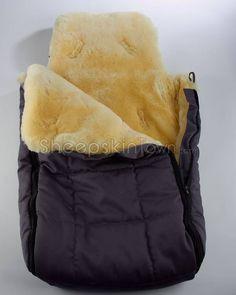 Baby Sheepskin Stroller Snuggle