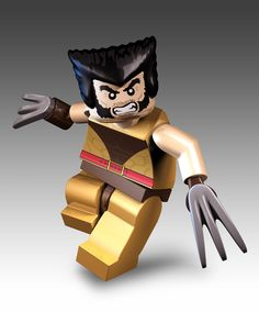 Lego Wolverine is the best there is at what he does