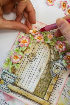 Have the desire to create a beautiful, classic French Landscape? But your journey to create your dream destination has been filled with frustration and disappointment? The New French Cottage Collection is your doorway to a magical oasis! Fabric Book Covers, Creating Keepsakes, Heartfelt Creations Cards, Window Cards, Decorate Notebook, Embossed Cards, French Cottage, Stamp Making, Card Maker