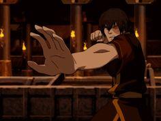 Zuko greatest fire bending move