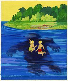 Jüri Arrak, Estonian artist. 'The Swamp Ladies of Estonia'. #colourfulestonia #visitestonia