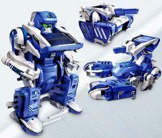 T3 Transforming Solar Robot Kit