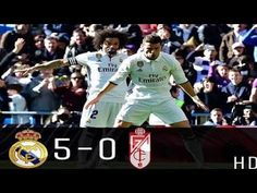 Real Madrid vs Granada - All Goals & Extended Highlights - La Liga Granada, Real Madrid, Highlights, Football, Goals, Baseball Cards, Sports, Youtube, The League