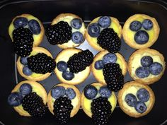 Mini fruit tarts - March 16, 2013