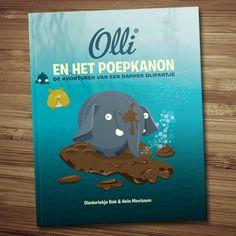 HET IS ZOVER!  Olli komt met leuke kinderboeken.  'Olli en het poepkanon' is in oktober verkrijgbaar in de boekhandel. pic.twitter.com/8l3A6aMkPh #olifantje