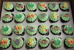 Jungle Babies 2...Animal Cupcakes