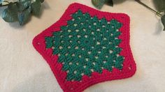 Set of 2 100 Cotton Christmas Dishcloths or by TheFlyButterFactory, $5.95