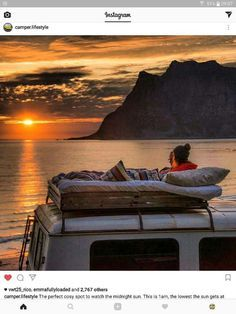 Are you looking to take a camping trip in the near future? Whether you are looking to take a camping trip as a family vacation or a romantic getaway, you may be concerned with . Van Life, Wanderlust, Van Living, Camper Life, Arctic Circle, Motorhome, The Great Outdoors, Conversion Van, Sprinter Van Conversion