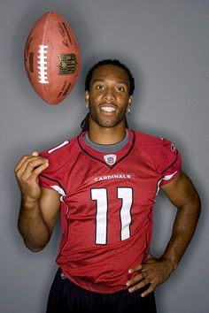 Larry Fitzgerald He is my dream man!!!! Aww so hot and he definitely knows how to run a ball haha