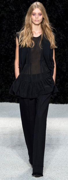 Vera Wang Ready To Wear Spring 2015