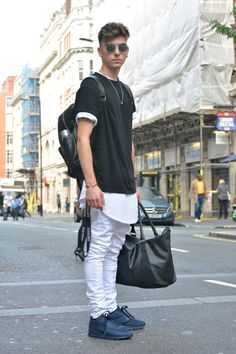 Street Style London Men | Men's Look | ASOS Fashion Finder