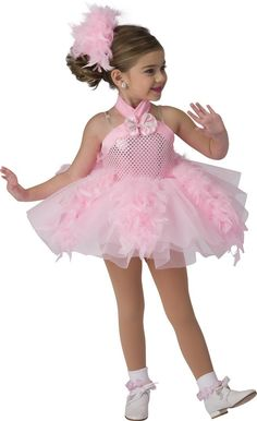 Costume Gallery: First Recital Costume Details Dance Picture Poses, Dance Pictures, Jazz Costumes, Halloween Costumes, Ballerina Costume, Dance Hairstyles, Flamingo Party, Beautiful Little Girls, Dance Studio