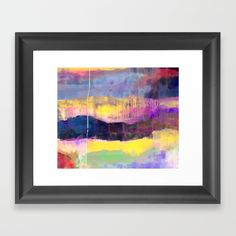 Landscape of soul Framed Art Print
