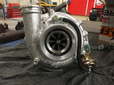 Oooooo yeahhh fresh turbo  #turbo #diesel #borgwarner #borgwarnerturbo #boost #mechanic #heavy #vehicle #mobile #plant #crane #terex #garretturbo #garrett #turbocharger #power #turbine