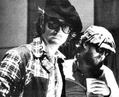 John & Harry Nilsson his partner in mischief throughout The Lost Weekend