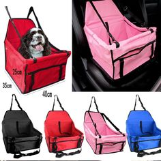 Dog Car Seat Cat Carrier Pet Carrier Dog Seat Belt Booster Seat Travel Carrier Bag Cage Tote Kennel Playpen Easy Folding Double Layer >>> More info could be found at the image url. (This is an affiliate link) #MyPet