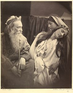 Julia Margaret Cameron: An illustration to Tennyson's poem 'The May Queen'…
