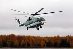 Russian Helicopters' new multi-role Mi-38 helicopter pre-series production prototype makes first flight (20-10-2014)