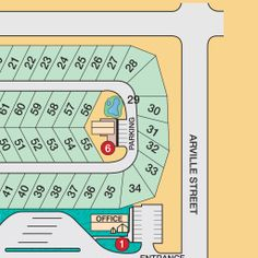 Resort Map of RV Park Layout | Las Vegas Luxury Motorcoach Resort Las Vegas Resorts, Rv Parks, Maps, Layout, Luxury, Blue Prints, Page Layout, Mobile Home Parks, Map