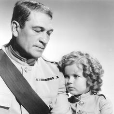 Shirley Temple & Victor McLaglen in WEE WILLIE WINKIE ('37).