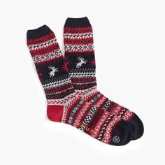 J.Crew Gift Guide: men's Chup™ capalino socks.