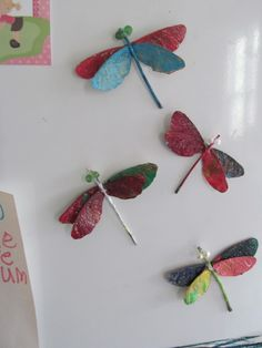 whimsy- seed dragonflies