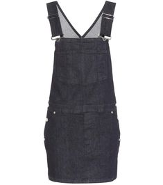 Blue Denim overall dress