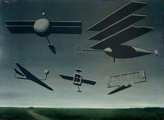 Rene Magritte - The Black Flag