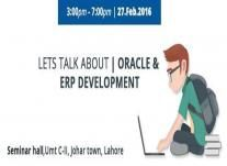 Lets Talk About Oracle ERP Development in Lahore  http://allevents.pk/events/Lets-Talk-About-Oracle-ERP-Development-in-Lahore  #Seminar #OracleADF #ERPDevelopment #Lahore