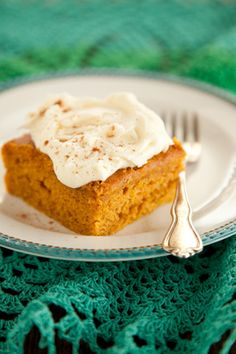 Pumpkin Bars  at PaulaDeen.com