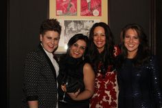 Tate Awards Dinner - Holly McSweeney (Tate Basingstoke), Neha Patel (Tate Guildford), Emma Bedford-Patel and Rebecca Bowsher (Tate Basingstoke)