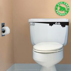 Toilet Monster decal £16.90