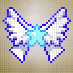 perler bead patterns Winged Star - Google Search