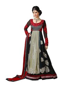 Loved it: Ajay And Vijay Black Pure Georgette Semi Stitched Embroidered Salwar Suit, http://www.snapdeal.com/product/ajay-and-vijay-black-pure/260965322