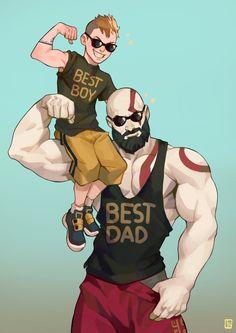 god of war | Kratos and Atreus