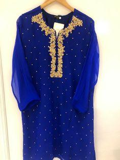 Agha Noor Kurti on Mercari Kurti Designs Party Wear, Dress Designs, Girl Fashion, Fashion Dresses, Fashion Ideas, Beautiful Pakistani Dresses, Ceremony Dresses, Wedding Dresses, Simple Dresses