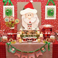 Fiesta Papá Noel infantil - DECORACIÓN FIESTAS