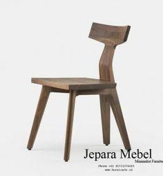 Jual Kursi Cafe Ikan Kayu Jati - Jepara Mebel - Jual Kursi Cafe Murah Furniture Decor, Furniture Design, Deep Sofa, Seat Available, Simple Elegance, White Oak, Home Furnishings, Solid Wood, Dining Chairs